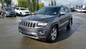 2015 Jeep Grand Cherokee OVERLAND 4X4 Accident Free,  Navigation