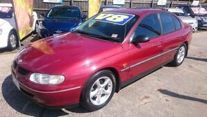 1997 Holden Commodore VT Executive Red 4 Speed Automatic Sedan Maidstone Maribyrnong Area Preview
