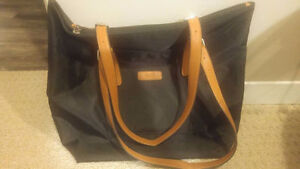 BRAND NEW never used authentic black ROOTS tote bag