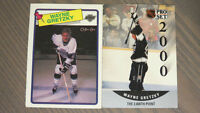 Wayne Gretzky and other Collectible Hockey Cards
