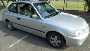 2001 Hyundai Accent LC GL Silver 4 Speed Automatic Hatchback Granville Parramatta Area Preview