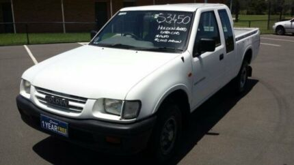 1999 Holden Rodeo TFR9 LX White 4 Speed Automatic Space Cab P/Up
