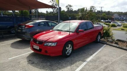 2004 Holden Crewman VZ S Red 4 Speed Automatic Utility Nerang Gold Coast West Preview