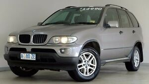 2005 BMW X5 E53 MY05 Steptronic Silver 5 Speed Sports Automatic Wagon Hobart CBD Hobart City Preview