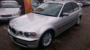 2001 BMW 316TI E46 Silver 5 Speed Auto Steptronic Hatchback Maidstone Maribyrnong Area Preview