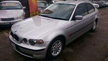2001 BMW 316TI E46 Silver 5 Speed Auto Steptronic Hatchback Maidstone Maribyrnong Area Preview