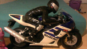 TOY Suzuki GSX-R, 2ft X 1 ft great for display or