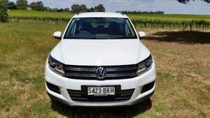2015 Volkswagen Tiguan 5N MY16 118TSI DSG 2WD Pure White 6 Speed Sports Automatic Dual Clutch Wagon