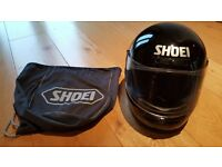 Shoei motorcycle crash helmet