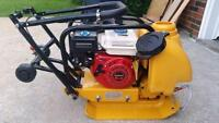 PLATE TAMPER COMPACTOR COMMERCIAL GRADE 14 INCH + WATER KIT + WHEEL KIT + 1 YEAR WARRANTY