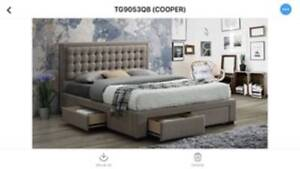 Range of King size Storage Bed Frames from $595