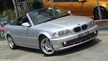 2002 BMW 330CI E46 Silver 5 Speed Auto Steptronic Convertible Homebush Strathfield Area Preview