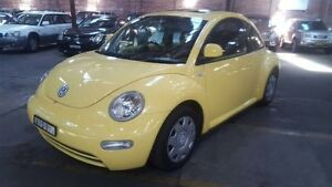 2000 Volkswagen Beetle 9C 2.0 Yellow 5 Speed Manual Hatchback Georgetown Newcastle Area Preview