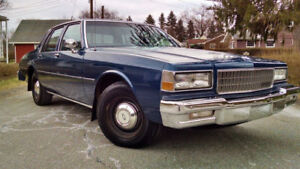 Wanted; 1987-90 Chevrolet Caprice 9C1 police pkg.
