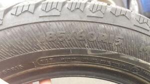 Pneus d'hiver/Winter tires 185/60/R15 West Island Greater Montréal image 4
