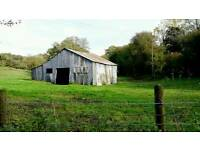 Wanted Grazing Land and/or Shed/Barn