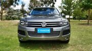 2014 Volkswagen Touareg 7P MY14 150TDI Tiptronic 4MOTION Canyon Grey 8 Speed Sports Automatic Wagon Tanunda Barossa Area Preview