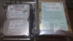 Lot (6) disque dur PC bureau/Desktop hard disk lot
