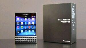 BNIB Sealed BlackBerry Passport Unlocked.