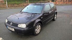 VOLKSWAGEN GOLF 1.9 GT TDI 130 (black) 2004