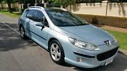 2006 Peugeot 407 MY05 ST HDI Touring Comfort Blue 4 Speed Tiptronic Wagon Nailsworth Prospect Area Preview