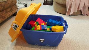 Big Box of LEGO DUPLO blocks