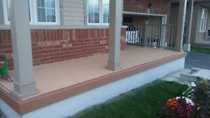Concrete sealing,Concrete repairs,Foundation Parging London Ontario image 5