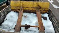 :Snowplow for forklift
