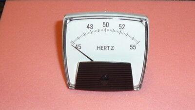 New 1pc Yokogawa 254350dgdg Frequency Meter 240v 45-55hz Ac Motor Load Hertz
