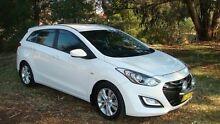 2013 Hyundai i30 GD Active Tourer White 6 Speed Sports Automatic Wagon Oaks Estate Queanbeyan Area Preview