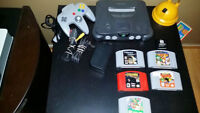 Nintendo 64 Console and N64 Games