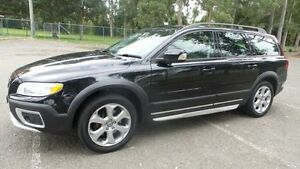 2009 Volvo XC70 BZ MY10 3.2 Black 6 Speed Automatic Geartronic Wagon Granville Parramatta Area Preview