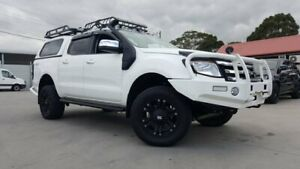 2013 Ford Ranger PX XLT Super Cab White 6 Speed Sports Automatic Utility Dandenong Greater Dandenong Preview