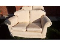 FREE!!! 2 x two seater sofa settee couch one is a little larger than the other