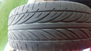 2 good shape all season tires P255/40ZR19 70% left. $120 both