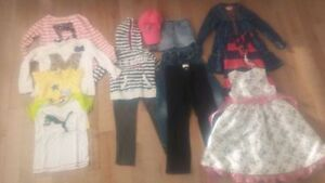Lot de vetement fille - 5 ans - Clothes for 5 yr old girl