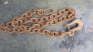 Heavy Duty Steel utility chain & hook 'Èò
