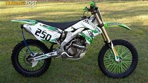 2008 KAWASAKI KX250F 250CC W9F MOTOCROSS Jimboomba Logan Area Preview