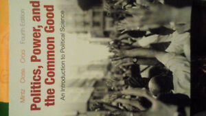 Politics, Power, and the Common Good 4th Edition