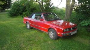 1990 BMW 325I CONVERTABLE RUNS GOOD 2000.00