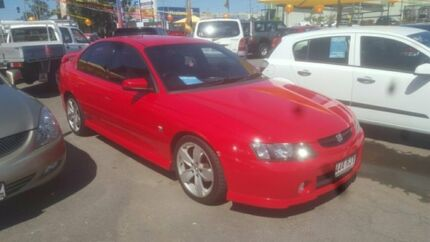 2003 Holden Commodore VY VY SS Red 5 Speed Manual Sedan Morayfield Caboolture Area Preview