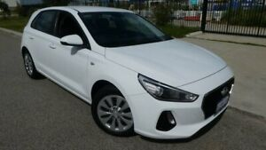2018 Hyundai i30 PD MY18 Go D-CT Crystal White Pearl 7 Speed Sports Automatic Dual Clutch Hatchback Bassendean Bassendean Area Preview