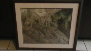 Rod Frederick Timberwolf Print Kitchener / Waterloo Kitchener Area image 3