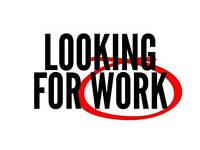 * LOOKING FOR WORK *