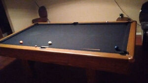 Black Beauty 4X8 pool table. Used a handful of times.