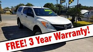 2012 Mazda BT-50 UP0YF1 XT 4x2 Hi-Rider White 6 Speed Sports Automatic Utility Acacia Ridge Brisbane South West Preview