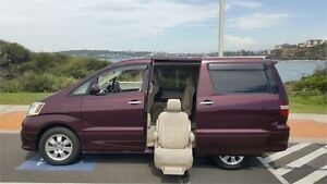 2002 Toyota Alphard WHEELCHAIR MNH10W Burgundy Automatic Wheelchair Transporter North Manly Manly Area Preview