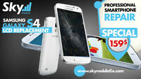SAMSUNG GALAXY S4 LCD REPLACEMEN​T 149 $ * SPECIAL