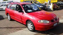 2000 Hyundai Lantra J2 GLS Red 4 Speed Manual Wagon Victoria Park Victoria Park Area Preview