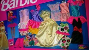 746 MATTEL BARBIE 10 FASHION GIFT SET NEW IN BOX 1992